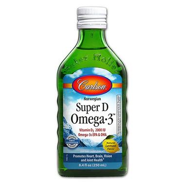Carlson Super D Omega-3 Cod Liver Oil