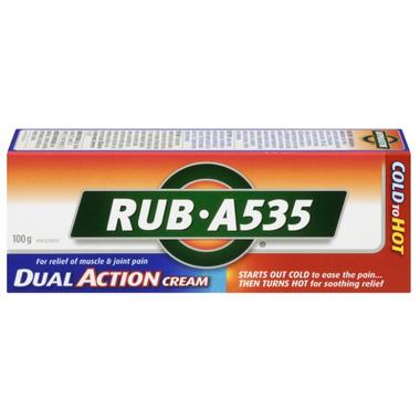 Rub A535 Dual Action Cream