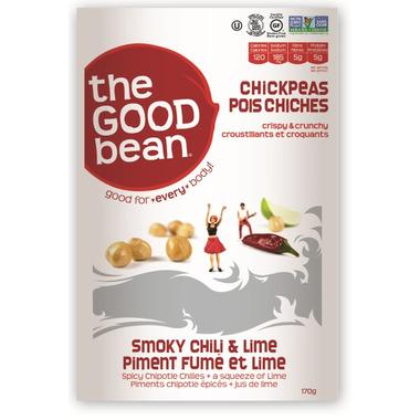 The Good Bean Smoky Chili & Lime Chickpeas