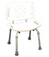 Mansfield Blow Moulded Plastic Seat with Back