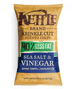 Kettle Salt & Vinegar Krinkle Potato Chips