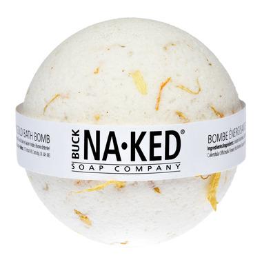 Buck Naked Soap Company Energizing Marigold Bath Bomb