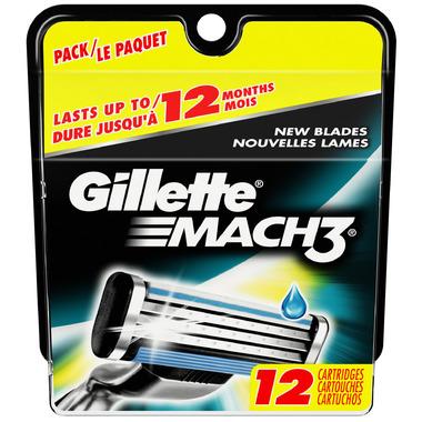 Gillette Mach3 Razor Refills