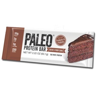 Julian Bakery Devil\'s Food Cake Paleo Protein Bar