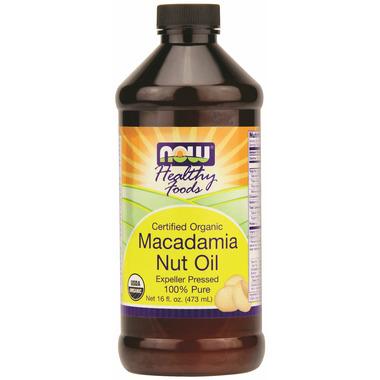 NOW Real Food Macadamia Nut Oil