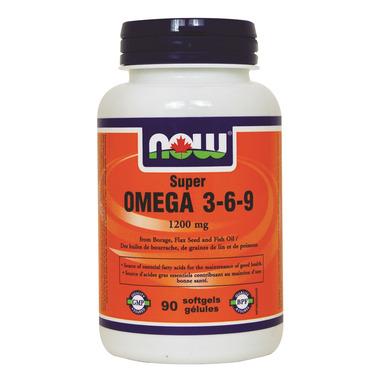 NOW Foods Super Omega 3-6-9