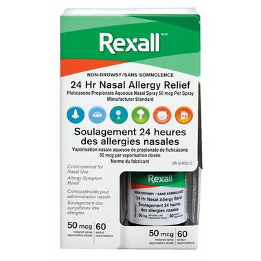 Rexall 24 Hour Allergy Relief Nasal Spray