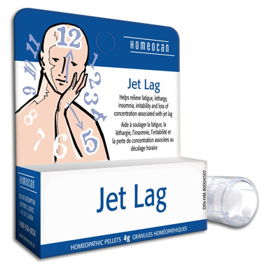 Homeocan Jet Lag Homeopathic Pellets