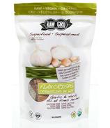 Raw Vitality Herb & Garlic Flax Crisps