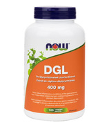NOW Foods DGL (De-Glycyrrhizinated Licorice Extract)