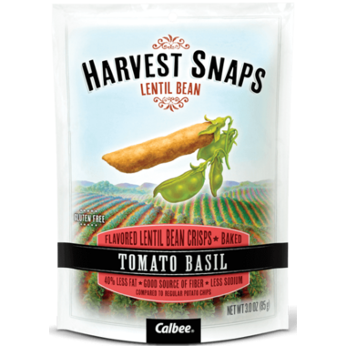 Harvest Snaps Lentil Bean Crisps