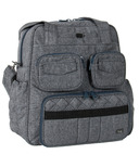 Lug Puddle Jumper Victory Gym / Overnight Bag Heather Black