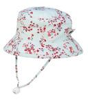 Puffin Gear Camp Hat Aqua Blossom