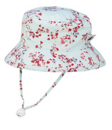 Puffin Gear Camp Hat Aqua Blossom