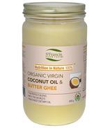 St. Francis Herb Farm Virgin Coconut Oil & Butter Ghee