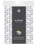 Kushies Portable Playpen Fitted Sheet Petal Grey