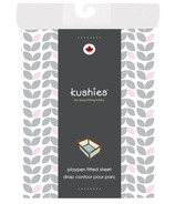 Kushies Portable Playpen Fitted Sheet Petal Grey