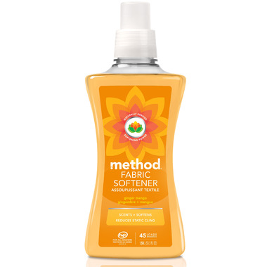 Method Liquid Fabric Softener Ginger Mango
