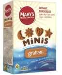 Mary's Organic Crackers Graham Cookie Mini's