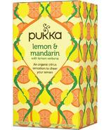 Pukka Lemon Mandarin Lemon Verbena Tea