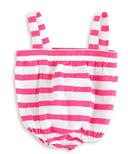 aden + anais Romper Shocking Pink Blazer Stripe