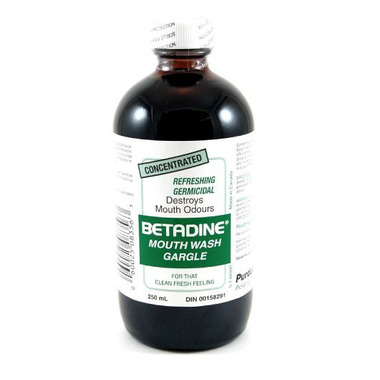 Betadine Concentrated Mouthwash & Gargle
