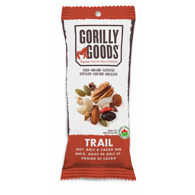 Gorilly Goods Trail Nut, Goji and Cacao Nibs