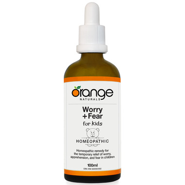 Orange Naturals Worry + Fear