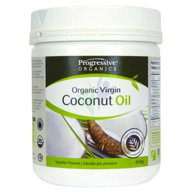 Progressive Organics Virgin Coconut Oil Unflavoured