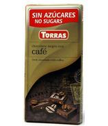Torras Sugar Free Dark Chocolate with Coffee