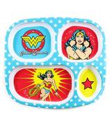 Bumkins DC Comics Melamine Plate Wonder Woman
