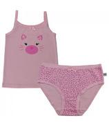Zoocchini Organic Girls Leopard Camisole & Underwear Set