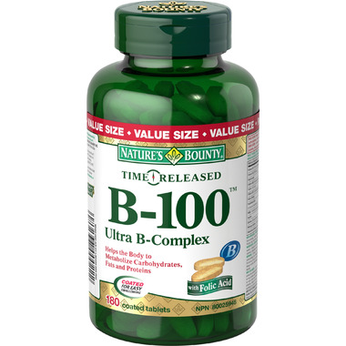 Nature\'s Bounty Time Release B-100 Ultra B-Complex
