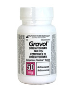 Gravol Dimenhydrinate Tablets