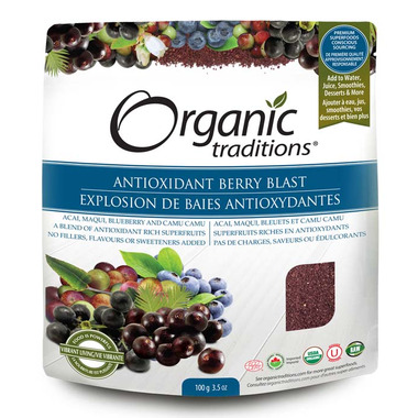 Organic Traditions Antioxidant Berry Blast