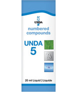 UNDA Numbered Compounds UNDA 5 Homeopathic Preparation