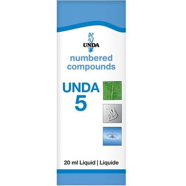 UNDA Numbered Compounds UNDA 5 Homeopathic Preparation