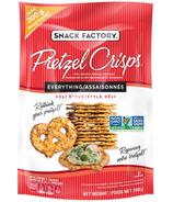Pretzel Crisps Everything Deli Style