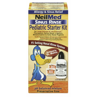 NeilMed Sinus Rinse Pediatric Starter Kit