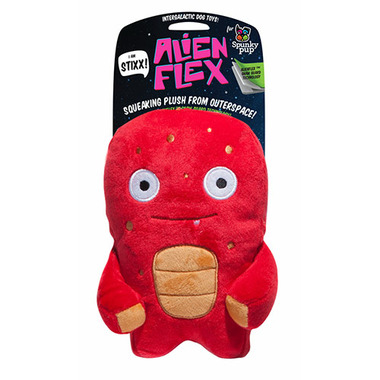 Spunky Pup Alien Plush Stixx