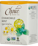 Choice Organic Teas Chamomile Mint Tea