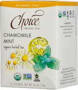 Choice Organic Teas Chamomile Mint Tea