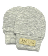 Juddlies Scratch Mitts Pale Grey Fleck