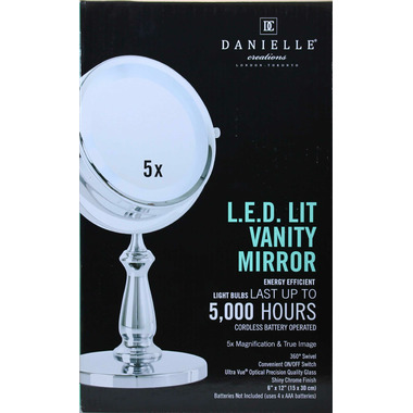 Buy Danielle Creations L E D Lit Vanity Mirror At Well Ca