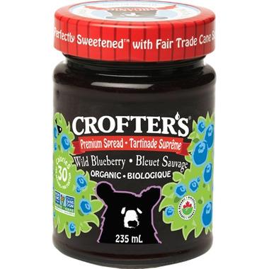 Crofter\'s Organic Wild Blueberry Premium Spread