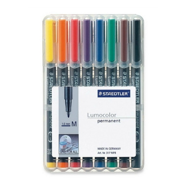 Staedtler Lumocolour Permanent CD/DVD Pens