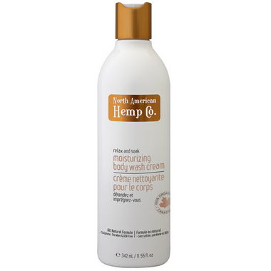 North American Hemp Co. Moisturising Body Wash Cream
