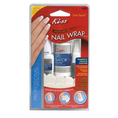 Kiss Brush-On Gel Nail Wrap Kit