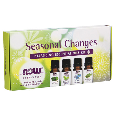 NOW Seasonal Changes Balancing Essential Oils Kit