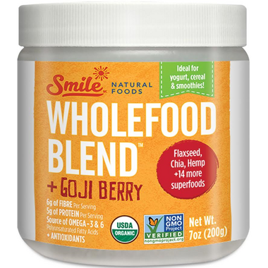 Smile Natural Foods Wholefood Blend Goji Berry